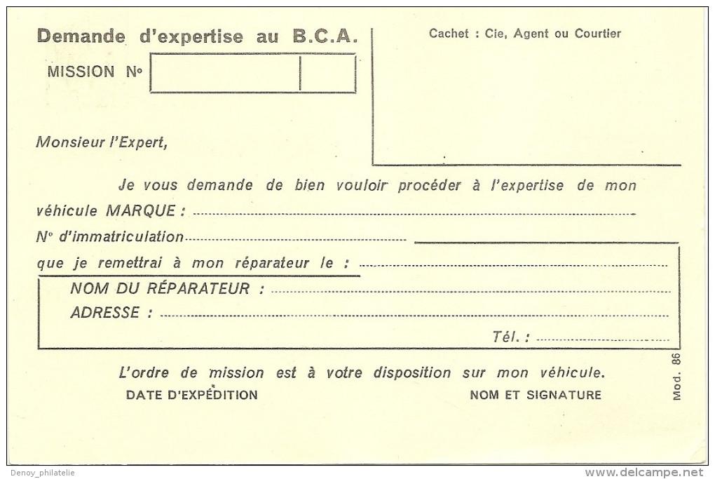 France Lot De 4 Enriers 2 Tsc Et Deux Repiquages - Bureau Commun Automobile - Les 4 Net 25 Euros - Ganzsachen