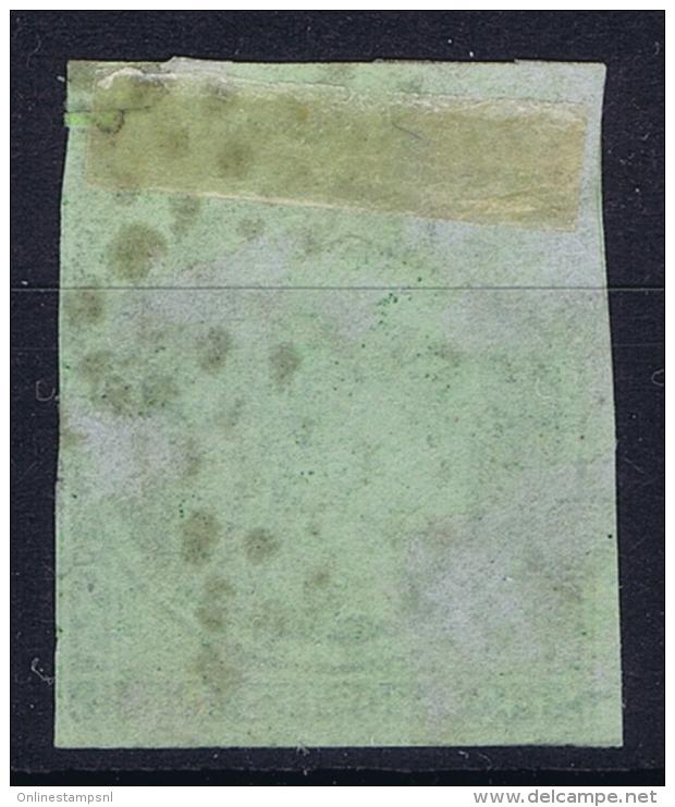 France: Yv Nr 2b Vert Foncé  Obl Used  Cachet Etoile  1850 - 1849-1850 Cérès