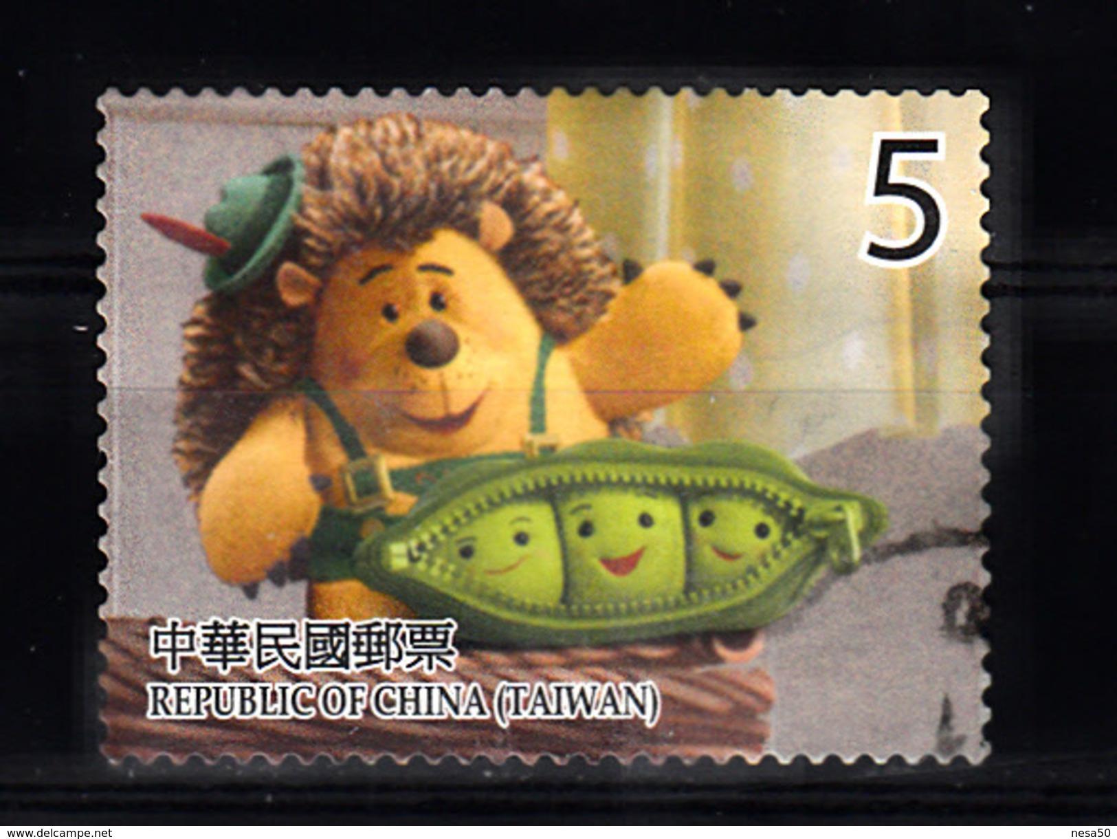 China-Taiwan, Formosa 2012 Mi Nr 3745 ; Old Story : Mr. Pricklepants - 1945-... Republik China