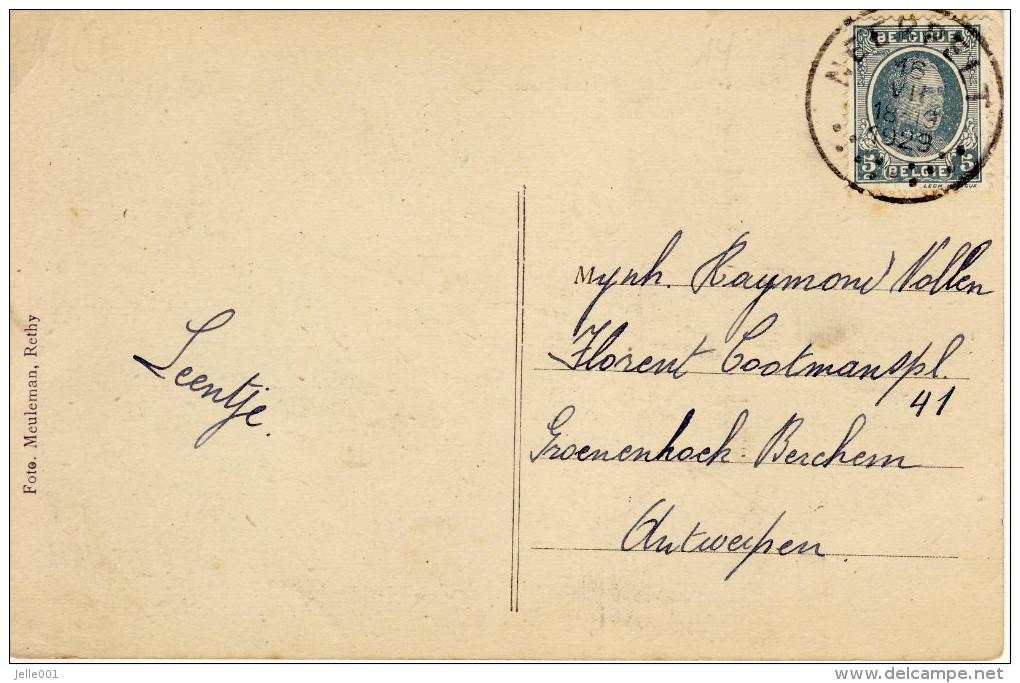 Overpelt  Statiestraat 1929 - Overpelt