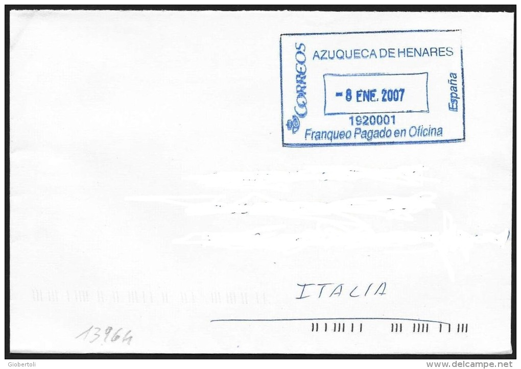 Spagna/Spain/Espagne: Lettera, Lettre, Letter - 2001-10 Storia Postale