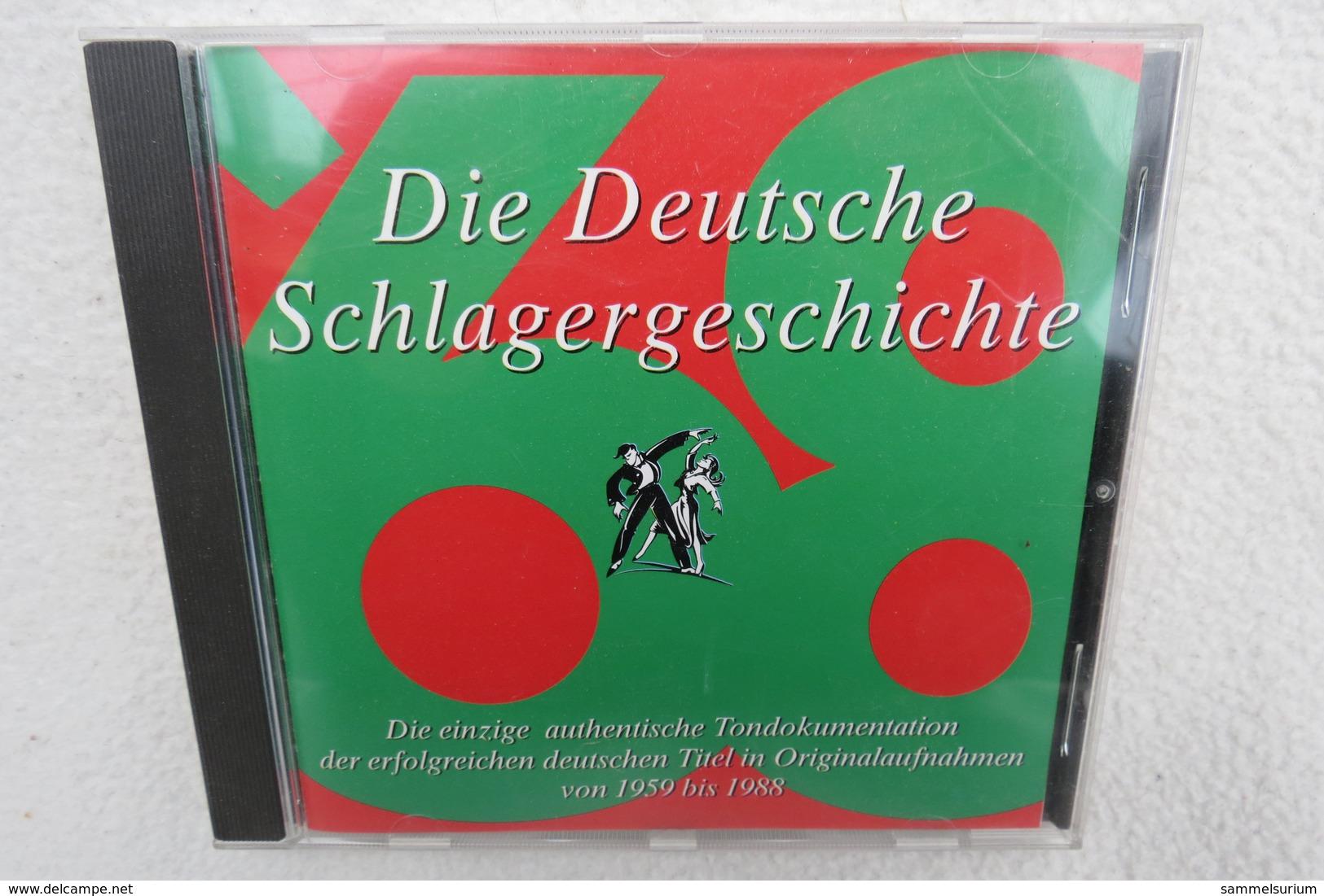 """CD """"Die Deutsche Schlagergeschichte 1968"""" Authentische Tondokumentation Erfolgreicher Dtsch. Titel Im Original 1959-1988 - Sonstige - Deutsche Musik"""