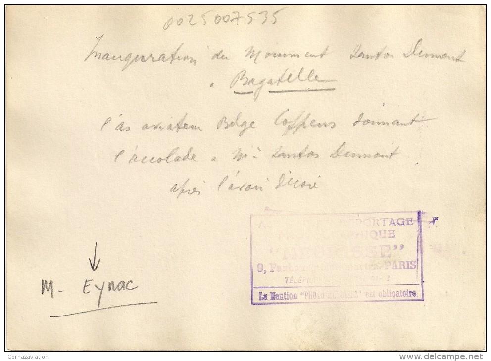 Aviation - Santos Dumont à Bagatelle, Paris - Transports