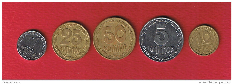 Ukraine --  Lot De 5 Monnaies - Ukraine