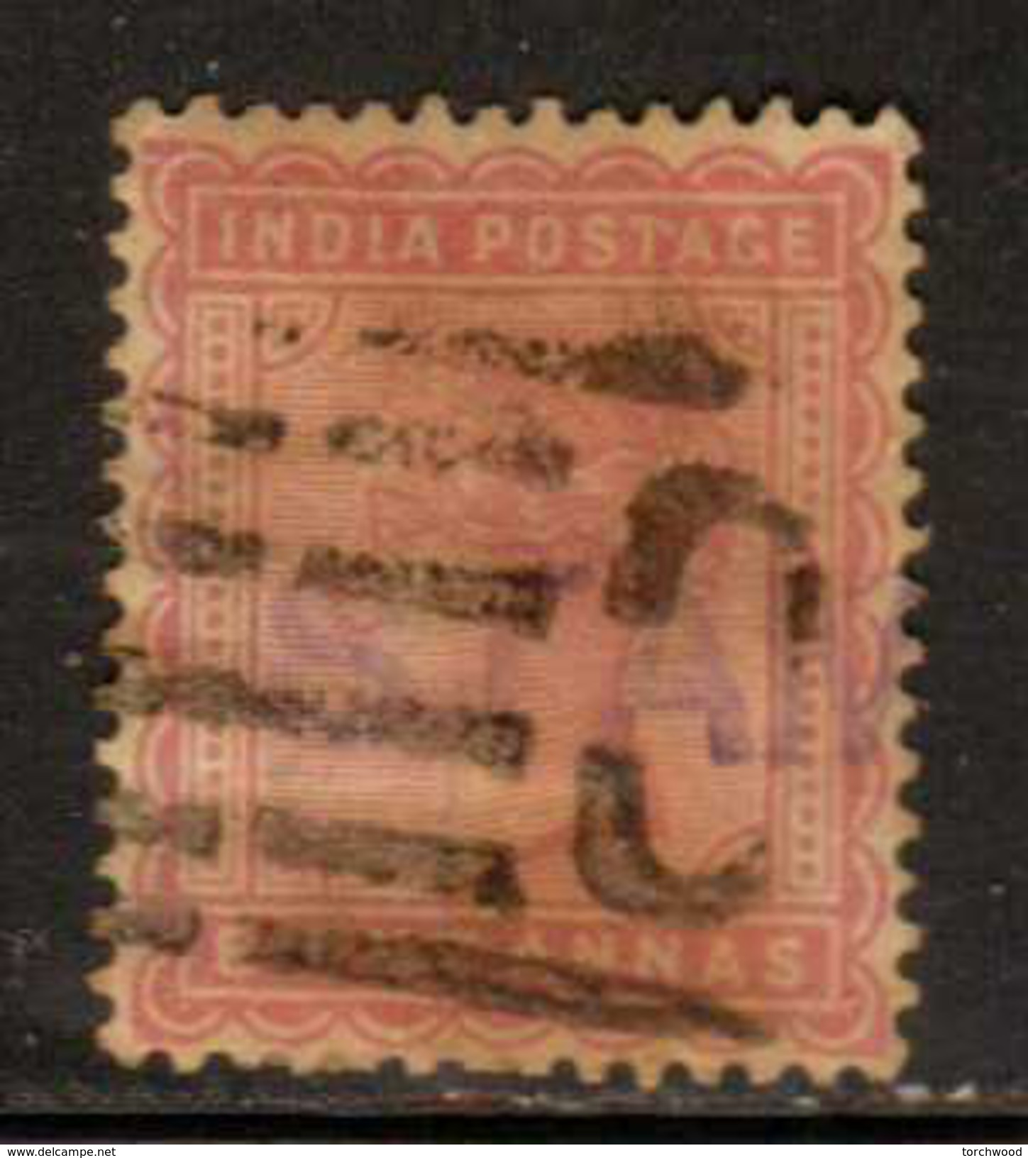 India  Sc#  44a  Used  1882 - India (...-1947)