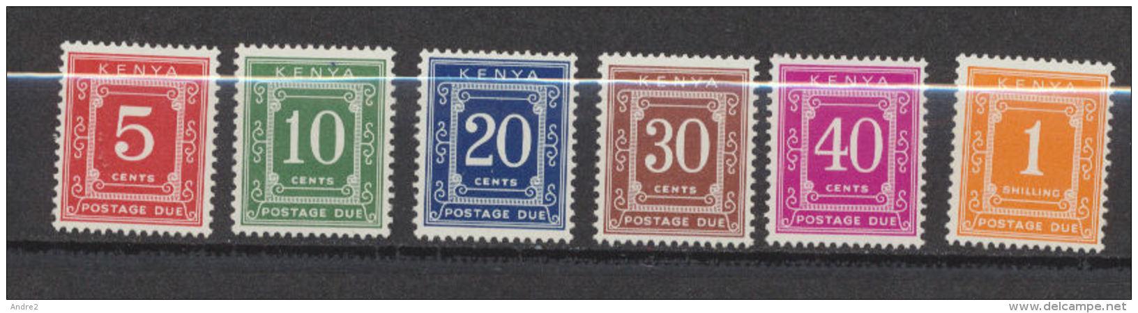 Kenya  1967 Timbres-Taxe  ***  MNH - Kenya (1963-...)