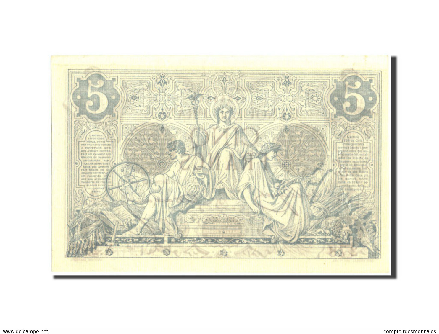 France, 5 Francs, 5 F 1871-1874 ''Noir'', 1873, 1873-05-16, KM:60, SUP+ - 1871-1952 Antichi Franchi Circolanti Nel XX Secolo