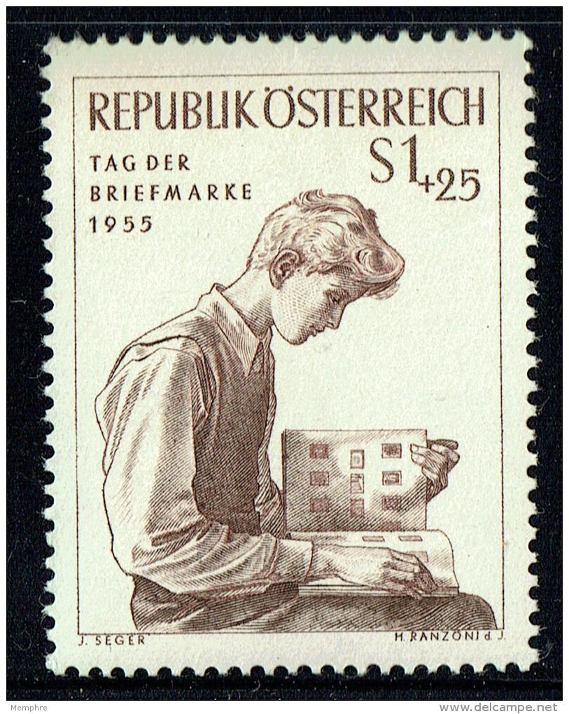 1955  Journée Du Timbre  MiNr 1023  ** - 1945-.... 2ème République