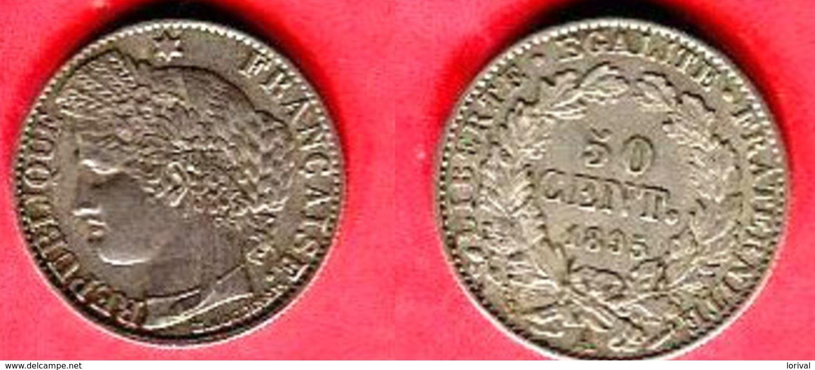§  1895 A     (  ) TB+ 28 - G. 50 Centesimi