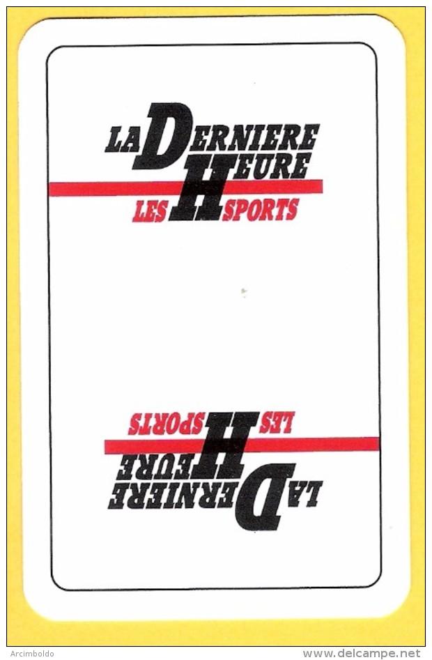 Dos De Carte : La Dernière Heure Les Sports (quotidien, Journal, Presse) - Kartenspiele (traditionell)