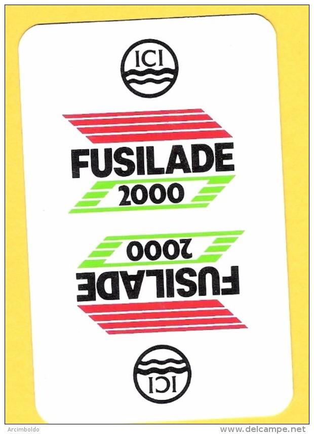 Dos De Carte : Fusillade 2000 ICI Chimie Herbicide - Kartenspiele (traditionell)