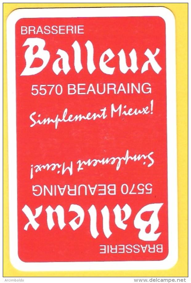 Dos De Carte : Brasserie Balleux Beauraing - Kartenspiele (traditionell)