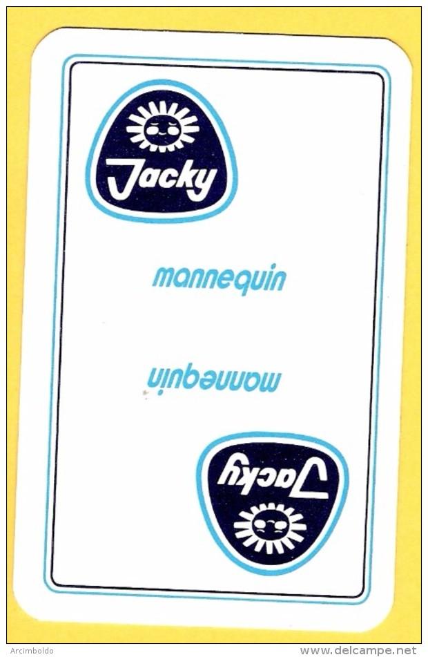 Dos De Carte : Jacky Mannequin , Yaourt, Yoghourt - Kartenspiele (traditionell)