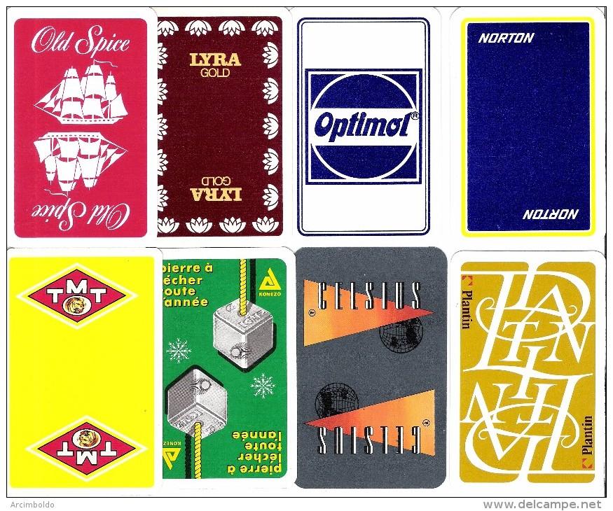 Lot De 16 Dos De Carte - Kartenspiele (traditionell)