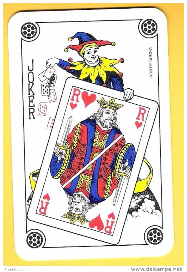 Joker : Lot De 25 Jokers Avec Roi De Coeur (dos Classiques) - Barajas De Naipe