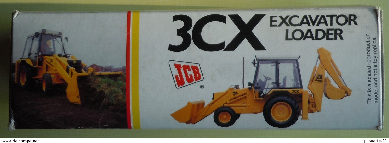 NZG N° 277/2771 JCB 3CX EXCAVATOR LOADER M1:85 - Camiones, Buses Y Construcción