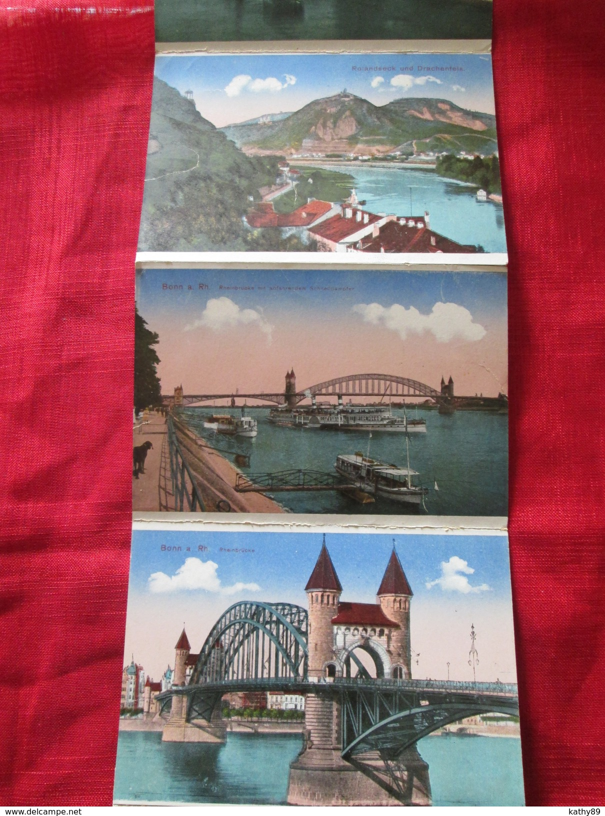 Bonn A Rhein (allemagne) Carnet De 12 Cartes Postales - 5 - 99 Karten