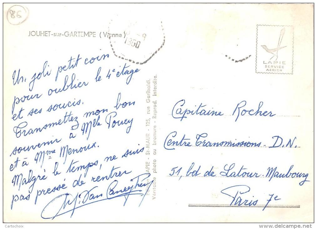 86 - Jouhet -sur-Gartempe - 4 Beaux Plans - France