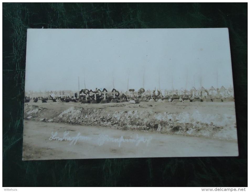 Ledegem  Duits Militaire Kerkhof  ( 2 Scans ) - Ledegem