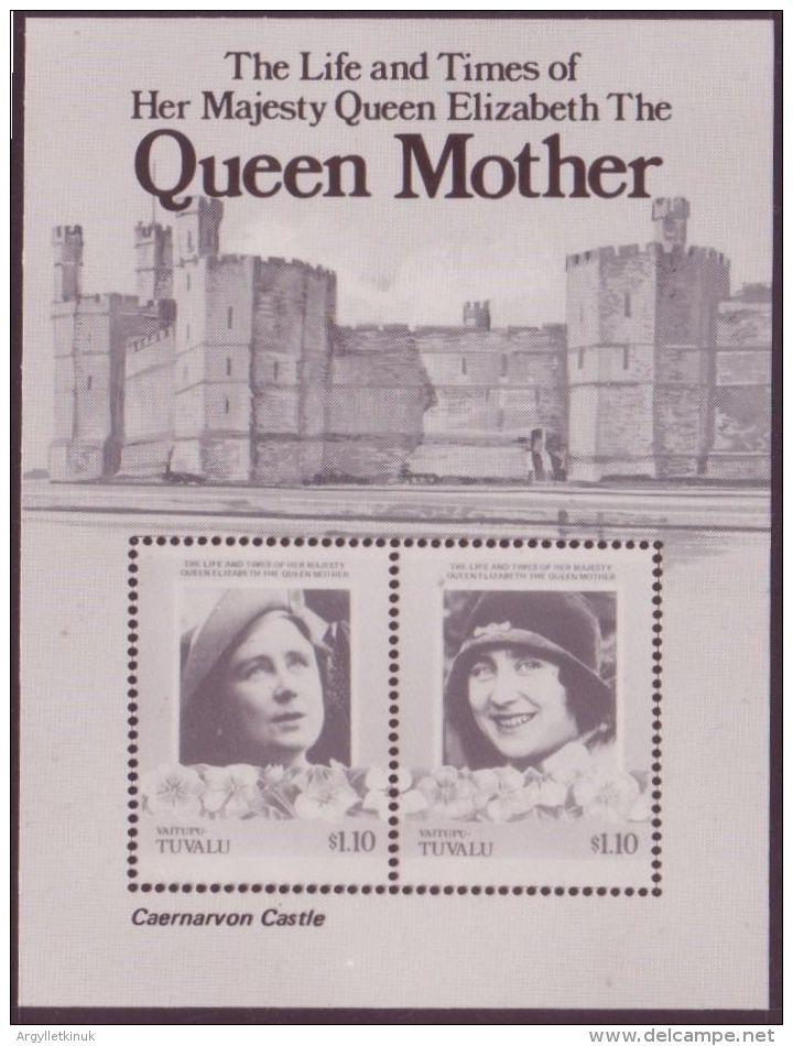 QUEEN MOTHER - TUVALU PRINTER'S PROOF - 1902-1951 (Kings)