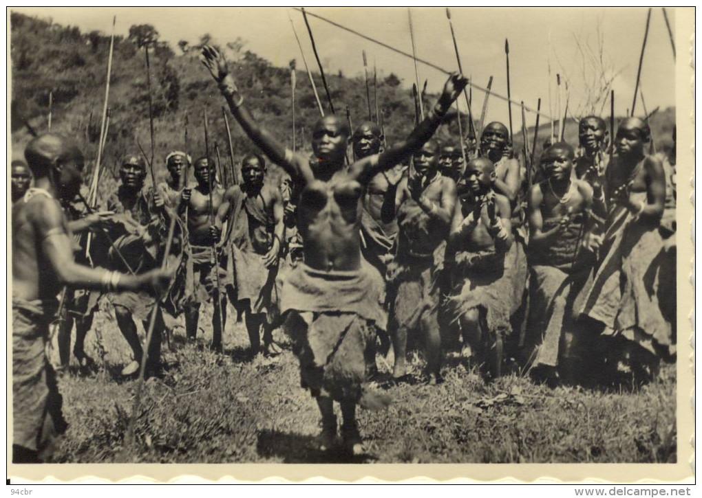 PHOTO 7.5x10.5 (ruanda)   Danseuses Bahutu (nu Ethnique) - Ruanda-Urundi