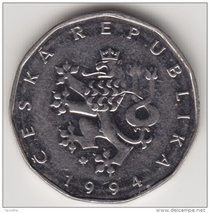 @Y@   Tsjechië    2 Korun  1994         (4295) - Repubblica Ceca