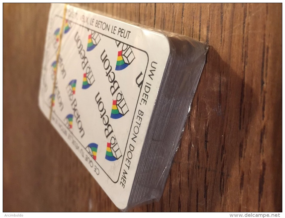 Jeu De 52 Cartes + Jokers : Beton - Neuf Sous Cellophane ! - Kartenspiele (traditionell)