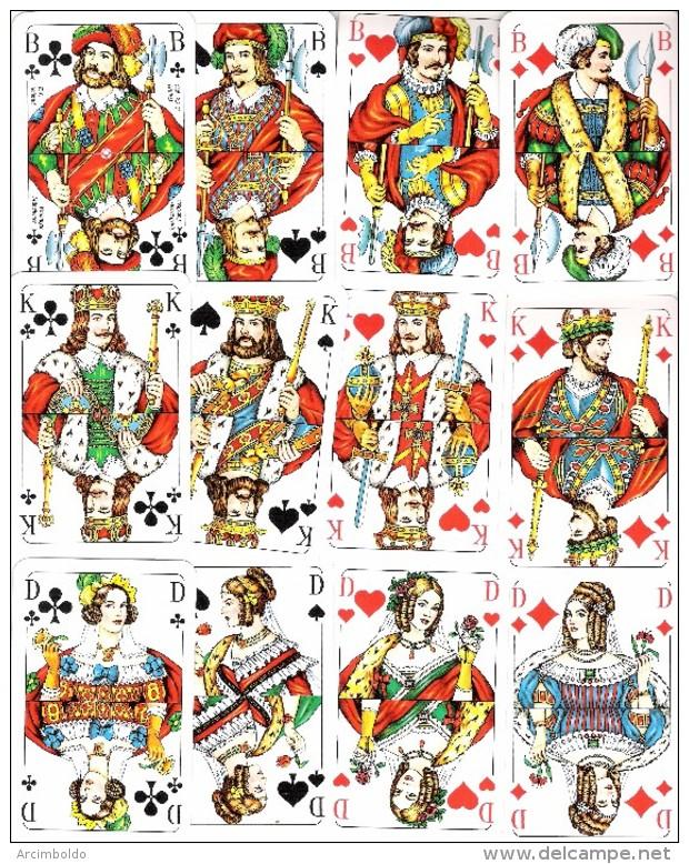 Jeu Allemand De 32 Cartes : F.X. Schmid Munchen Deutschland - Kartenspiele (traditionell)