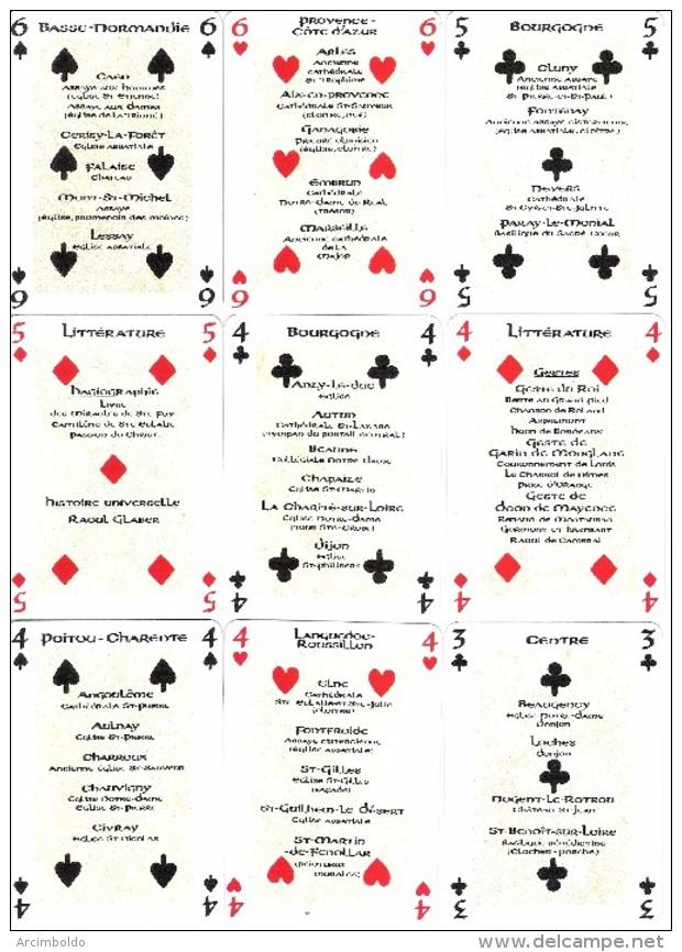 Jeu De 52 Cartes + 3 Jokers : Jeu Roman (Art) - Editions Dusserre (Guillaume Le Conquérant, Hugues Capet, Bayeux, - Kartenspiele (traditionell)