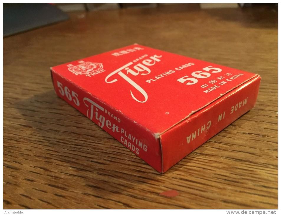 Jeu De 52 Cartes +  Jokers : Tiger Brand China 565 NEUF SOUS CELLOPHANE ! - Kartenspiele (traditionell)