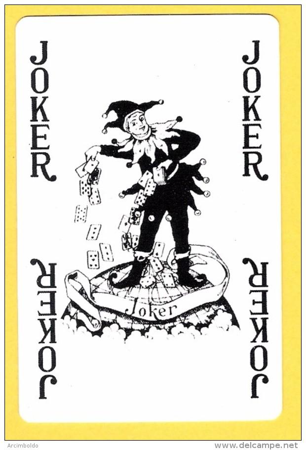 Joker  : Inscriptions 4 X Joker En Noir - Verso Kriek Belle-vue (bière, Beer, Brasserie) - Speelkaarten