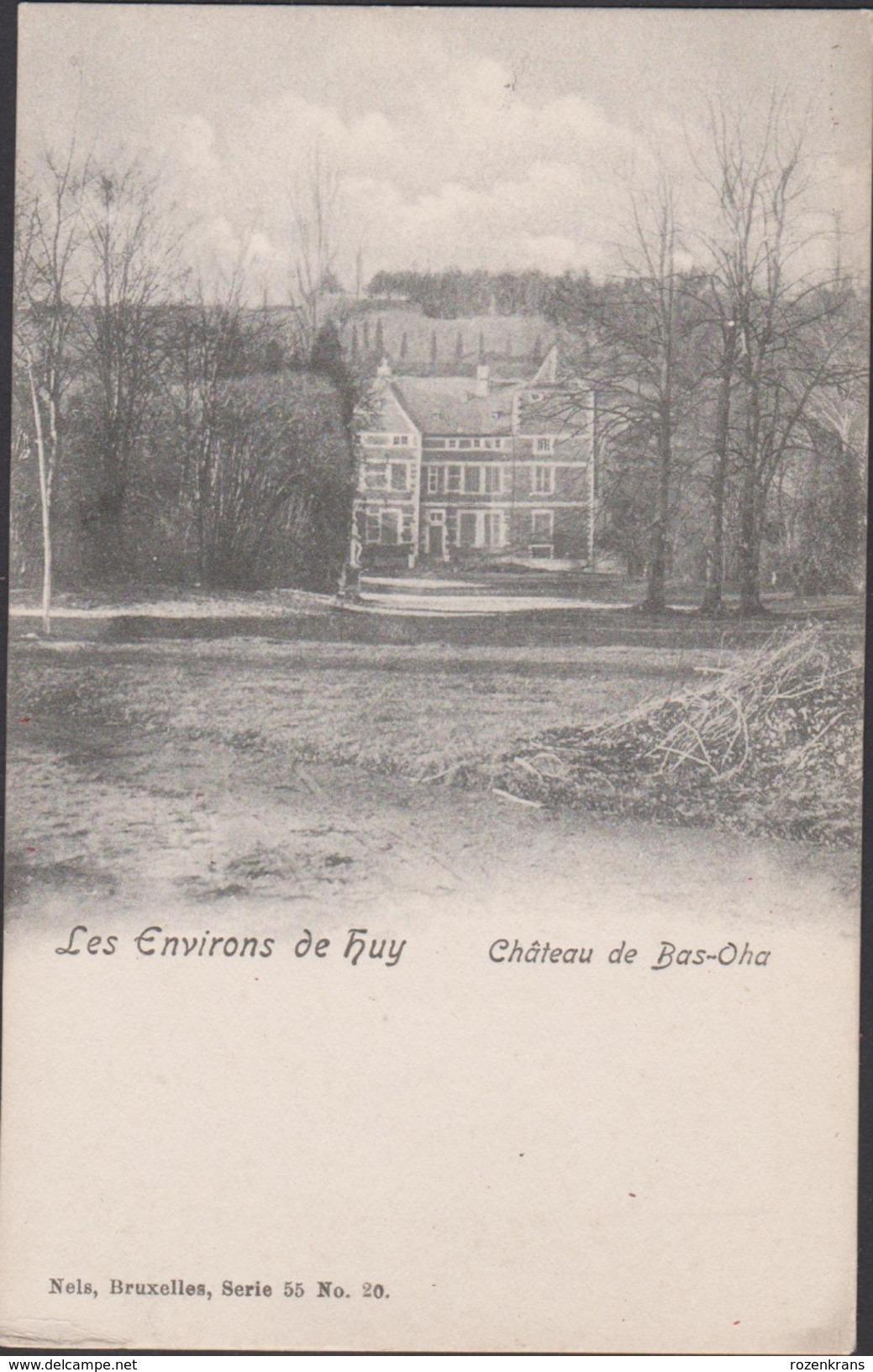 Les Environs De Huy Hoei Chateau Rouge De Bas Oha Liege Luik - Huy