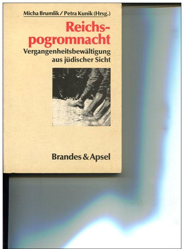 Reichspogromnacht - Vergangenheitsbewältigung Aus Jüdischer Sicht. - Bücher, Zeitschriften, Comics
