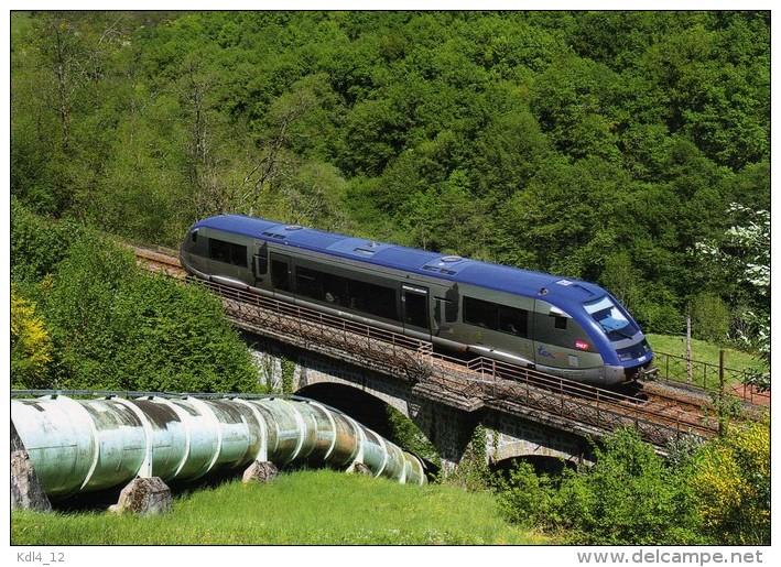 RU 1347 - Autorail X 73777 Vers BUSSY  - Haute Vienne 87 - SNCF - France