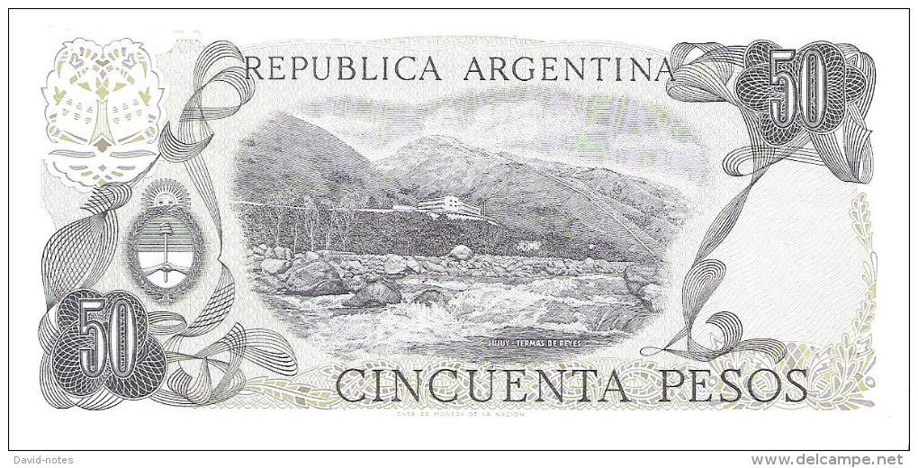 Argentina - Pick 301b - 50 Pesos 1976 - 1978 - Unc - Argentine