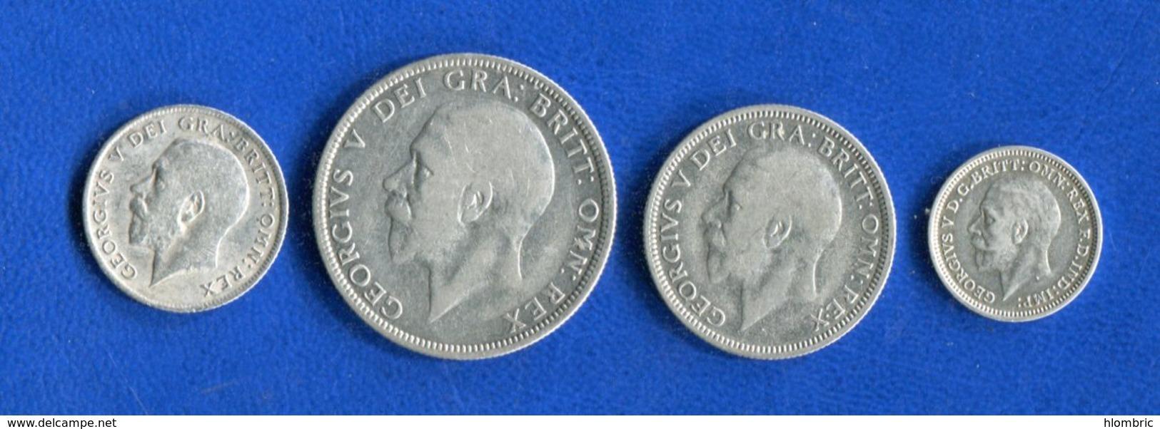 Uk  4  Pieces  Arg - Grande-Bretagne