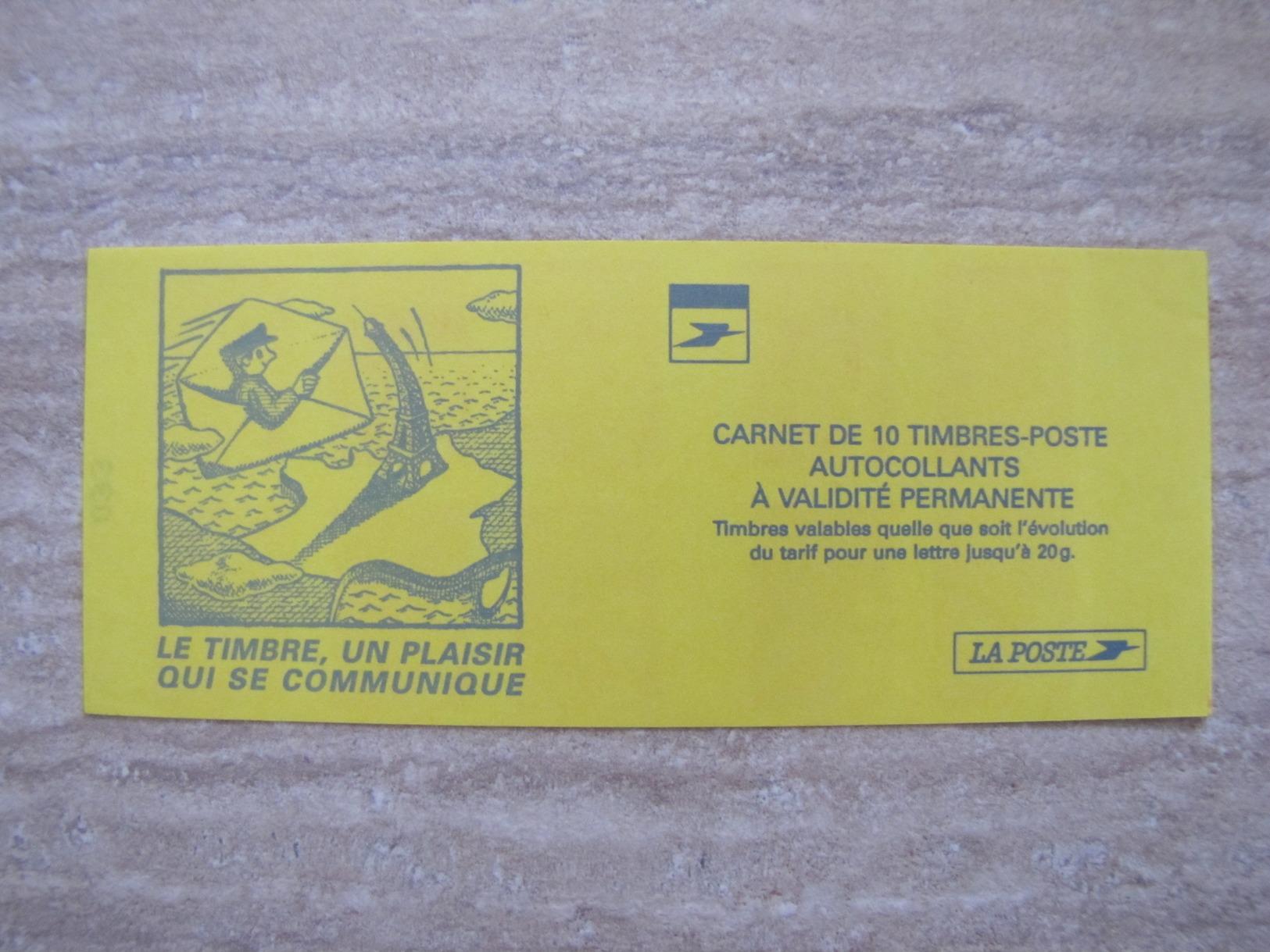 CARNET LUQUET N°3085a-C2  DATE DU 15.11.99 AVEC BOUT DE RE A GAUCHE - Usage Courant
