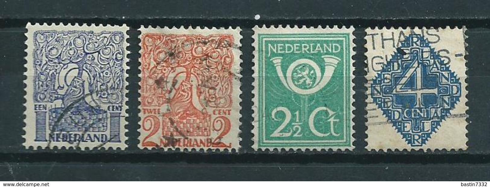 1923 Netherlands Complete Set Definitives Used/gebruikt/oblitere - Periode 1891-1948 (Wilhelmina)
