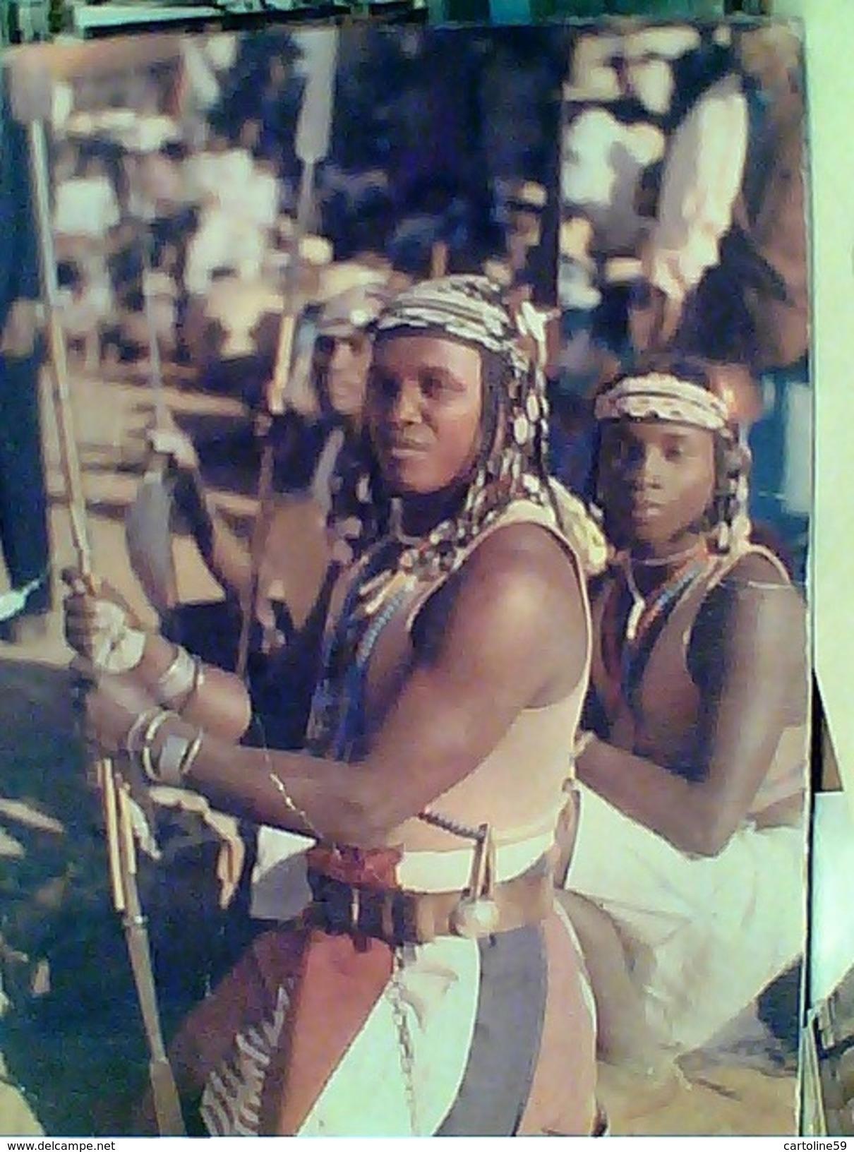 MADAGASCAR DANCE  FOLK DANSEUR BARA  V1967  FV8995 - Madagascar