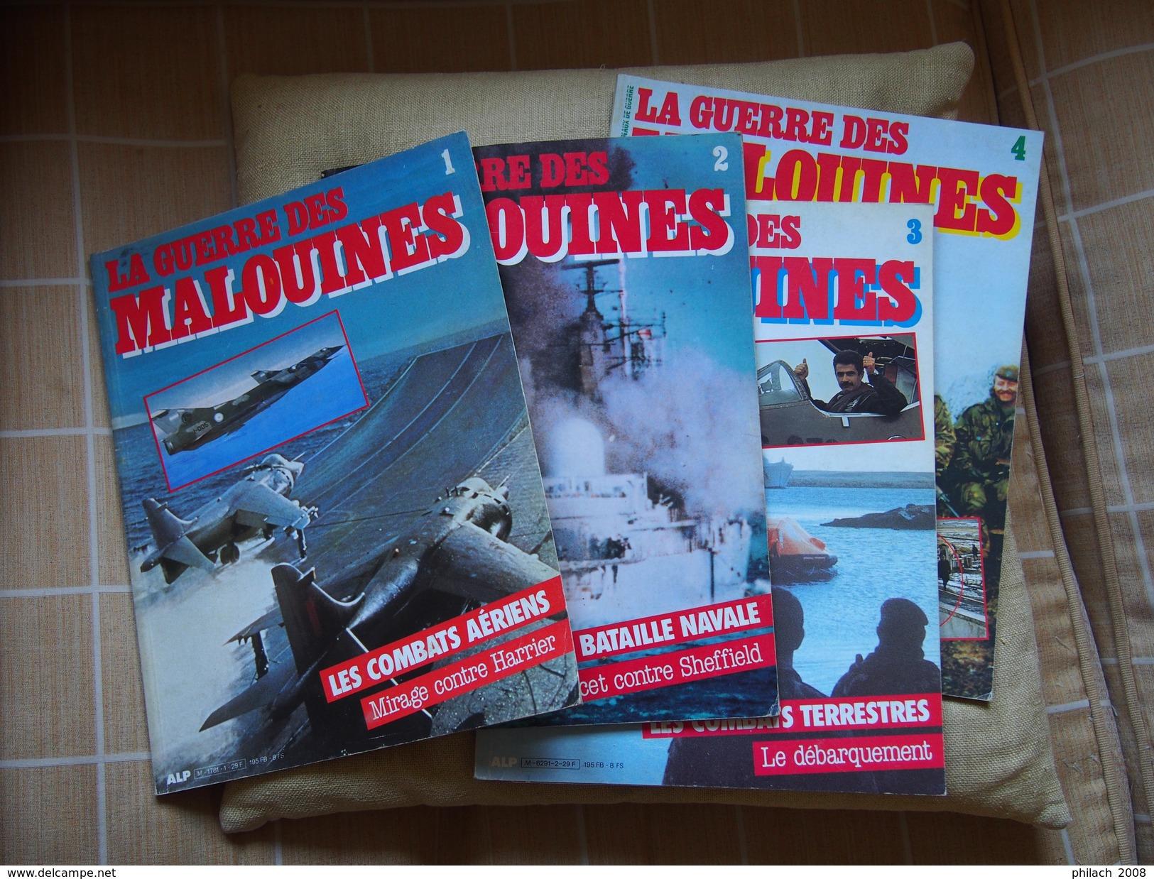 La Guerre Des Malouines En 4 Tomes - Books, Magazines  & Catalogs