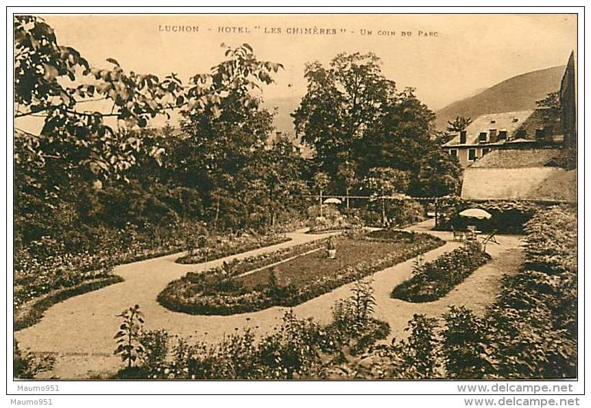 31 LUCHON - HOTEL LES CHIMERES - Luchon