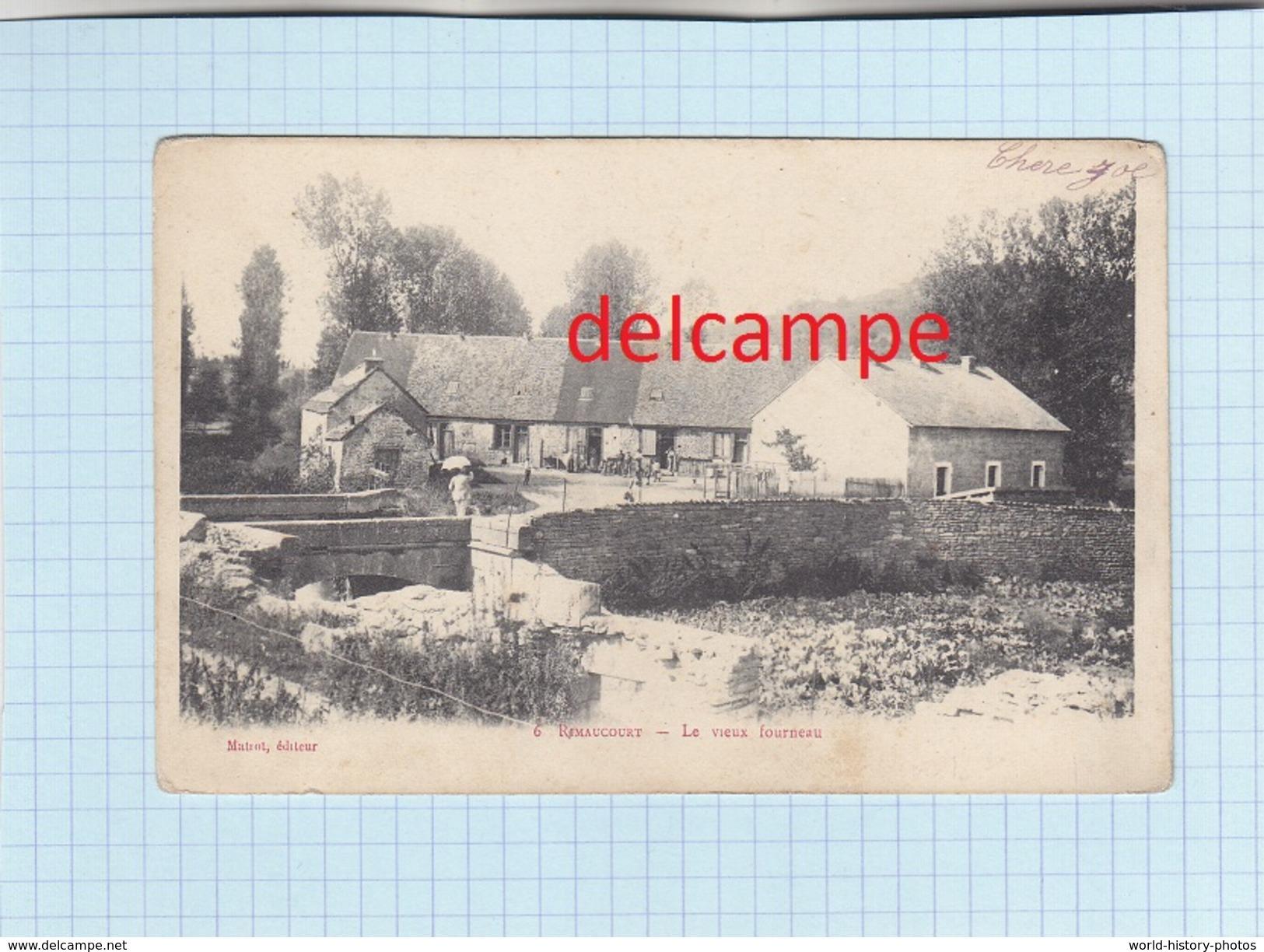 CPA -  RIMAUCOURT  - (Hte Marne) - 6. Le Vieux Fourneau  - Matrot éditeur - Autres Communes