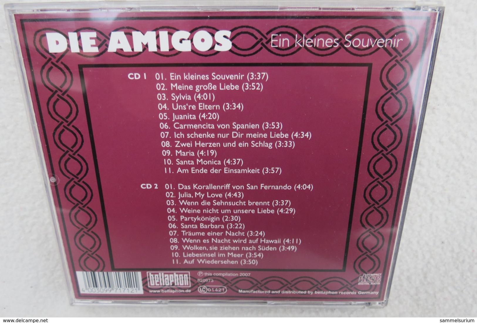 """2 CDs """"Amigos"""" Ein Kleines Souvenir - Musik & Instrumente"""