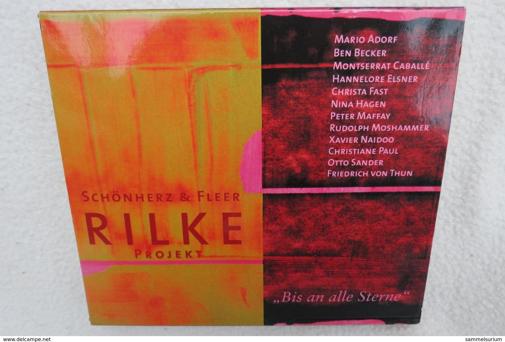 """CD """"Schönherz & Fleer"""" Bis An Alle Sterne, Rilke Projekt - Sonstige - Deutsche Musik"""