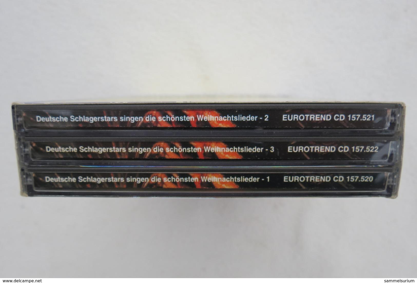 """3 CD Box """"Weihnachtslieder"""" Deutsche Schlagerstars Singen Die Schönsten Weihnachtslieder - Weihnachtslieder"""