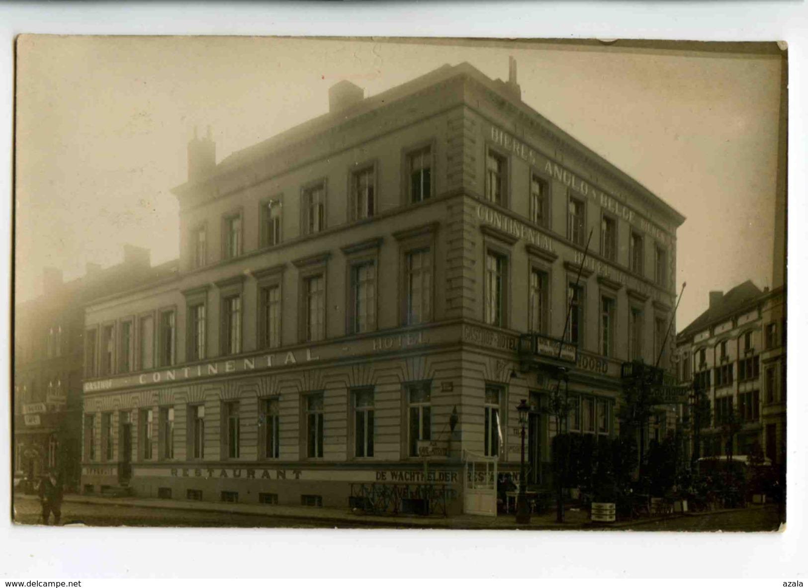 A 18831   -   Carte Photo à Identifier  -  Hôtel-Restaurant Continental  - - Belgique