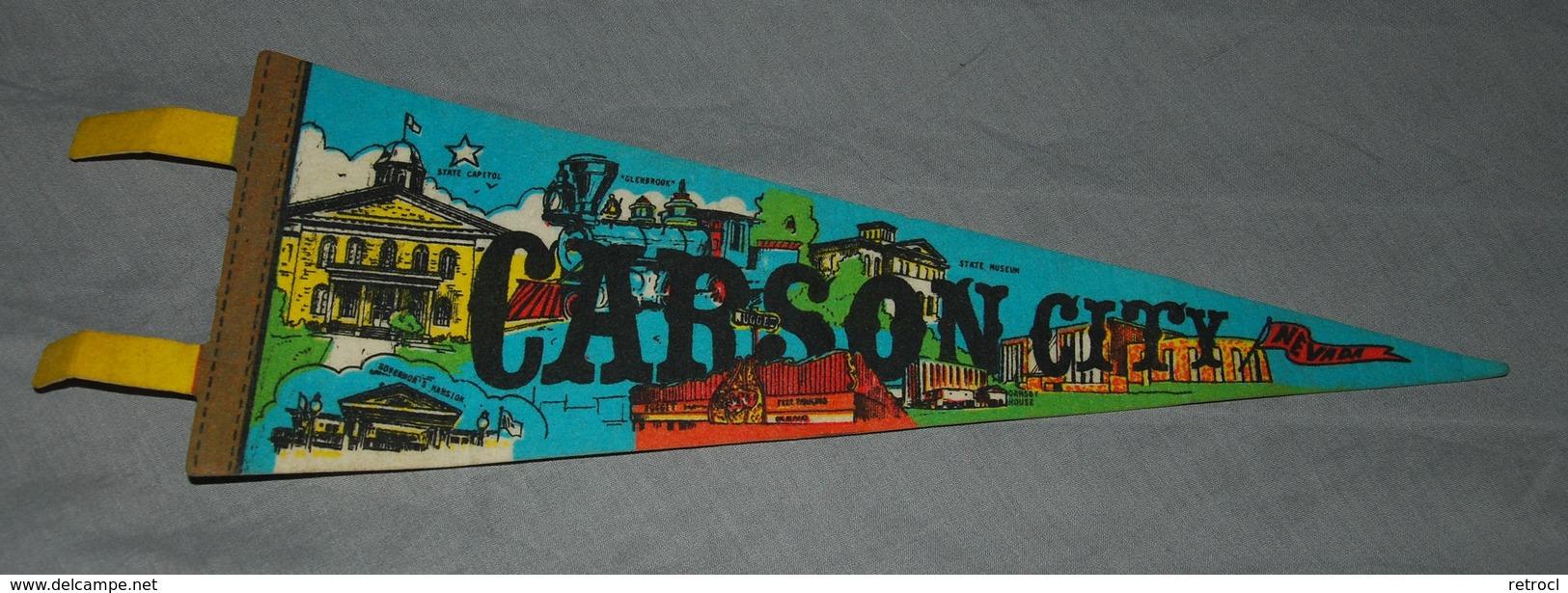 FANION - CARSON CITY - IMPKO Pennant - Obj. 'Souvenir De'