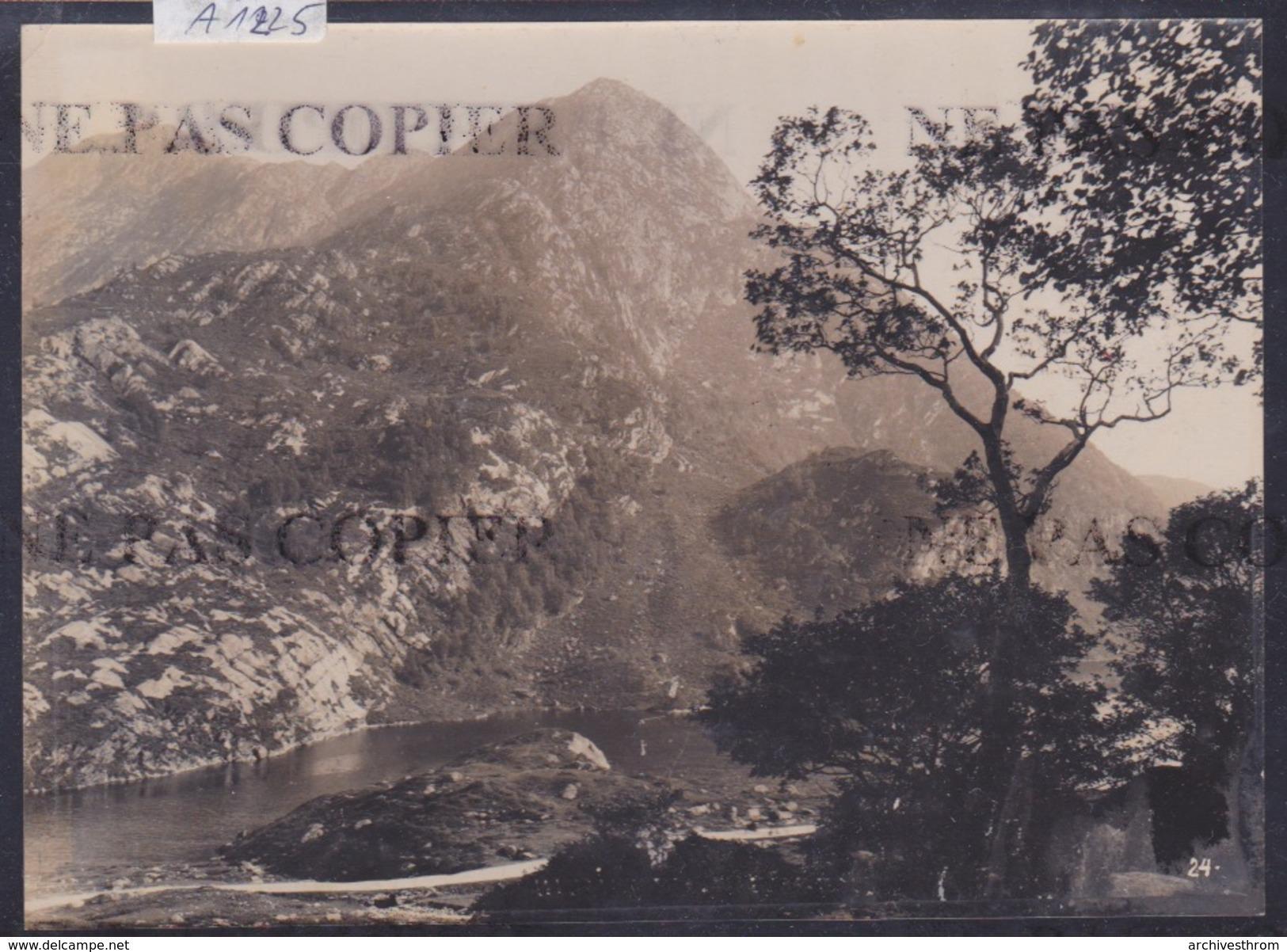 Bergen (environs De) - Fjord - 1916 ( Photo Originale O. Svanöe) (format 11 / 15 Cm) (A 1225) - Norvège