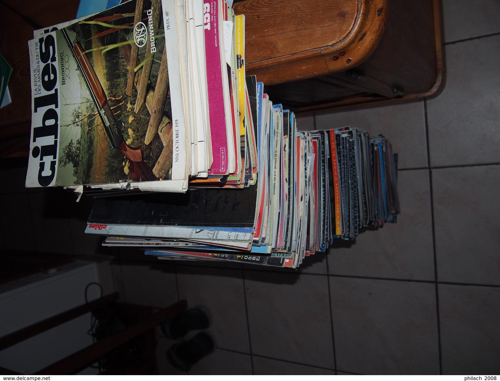 Revue CIBLES 250 Numéros Majoritairement Des Années 90 Et Après (numéro 200 Et Suivant) - Books, Magazines  & Catalogs