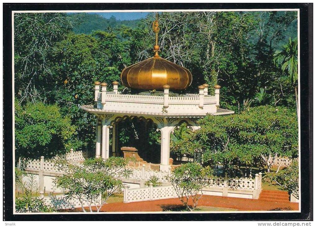 BRUNEI DARUSSALAM - POSTCARD - Tomb Of The 5th Ruler Sultan Bolkiah - Unused ** - Brunei